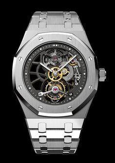 Audemars Piguet Tourbillon Royal Oak Squelette 40th Anniversary.  Now this is a watch!