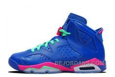 http://www.bejordans.com/big-discount-2014-air-jd-6-retro-gs-game-royal-vivid-pinklight-lucid-green-for-sale-spykm.html BIG DISCOUNT 2014 AIR JD 6 RETRO GS GAME ROYAL/VIVID PINK-LIGHT LUCID GREEN FOR SALE SPYKM Only $83.00 , Free Shipping!