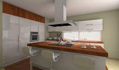 Lounge TISH – świetlne stoliki - nowoczesne kuchnie - projekty, forum - meble kuchenne, kuchnie na zamówienie, wyspa kuchenna Shaker Style, Kitchen Island, Lounge, Modern, Furniture, Home Decor, Houses, Island Kitchen, Airport Lounge