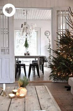interior of the day: Christmas tree