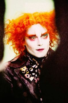 The Mad Hatter ♥ love him! He's so cute!