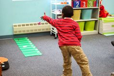 """Learning the Concept or """"Farthest"""" with a football Theme. Students compete to see who can throw the farthest in a superbowl themed activity. Great Fine Motor, Gross Motor, and concept building."""