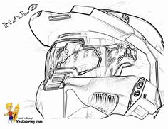 Fearless Halo3 Coloring Master Chief Special