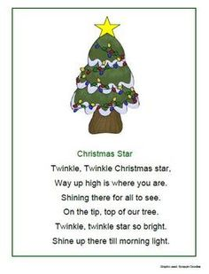 detail for -Christmas Songs, Poems and Fingerplays - 1 - 2 - 3 Learn Curriculum .Image detail for -Christmas Songs, Poems and Fingerplays - 1 - 2 - 3 Learn Curriculum . Christmas Tree Poem, Preschool Christmas Songs, Xmas Songs, Christmas Program, Christmas Concert, Preschool Music, Christmas Music, Christmas Activities, Christmas Songs For Toddlers