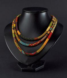 Slimline - Crochet Necklace #PurelyInspiration