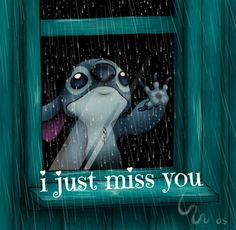 I just miss you. I wish you the best. Sorry I hurt you.