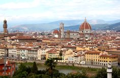 view of Florence and Duomo - Climbing the Duomo, Florence