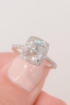 Moissanite Bridal Sets, Moissanite Rings, Heart Engagement Rings, Beautiful Diamond Rings, Proposal Ring, Diamond Wedding Bands, Unique Rings, Wedding Jewelry, Wedding Rings