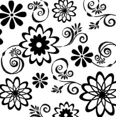 Black and White Party Luncheon Napkins - Pink Frosting Party Supplies