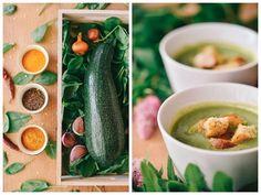Cuketová polievka so špenátom, po ktorej sa všetci budú oblizovať!