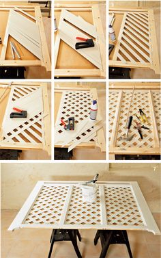 23 Clever DIY Christmas Decoration Ideas By Crafty Panda Diy Radiator Cover, Backyard Sitting Areas, Diy Projects Pvc Pipes, Creation Deco, Creative Walls, Cool Diy, Interior Design Living Room, Woodworking Plans, Diy Furniture