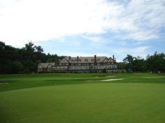 The clubhouse at Baltusrol Golf Club!!