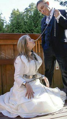 Bond Submissive Bridal Wedding Dressage Girly Stuff Gothic Women