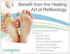 benefits of reflexology