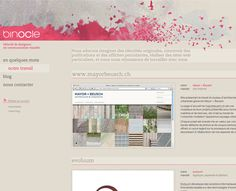 Watercolor Web Design