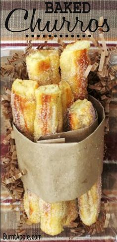 Yummy Baked Churros Recipe (my son has been asking for me to make Churros)
