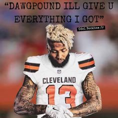 Cleveland Browns History, Cleveland Browns Football, Cleveland Rocks, Go Browns, Cauliflower Salad, Odell Beckham Jr, Sport Football, Nba Players, Tailgating