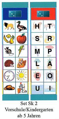 Flocards Set SK 2 Buchstaben und Wörter