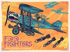 Foo Fighters - Angryblue - 2015 ----