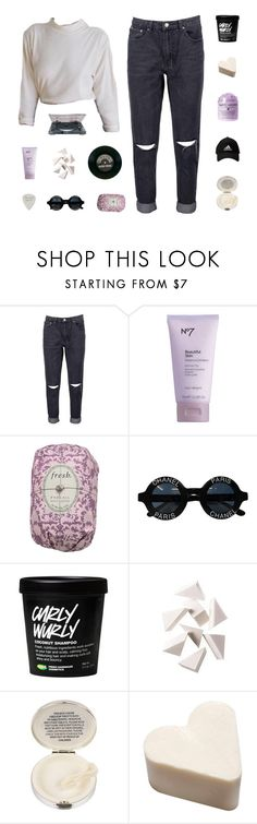 """monthly wrap up / suddenly i was a lilac sky"" by squidney12 ❤ liked on Polyvore featuring Boohoo, Fresh, Chanel, éS, Bobbi Brown Cosmetics and Lulu Guinness"