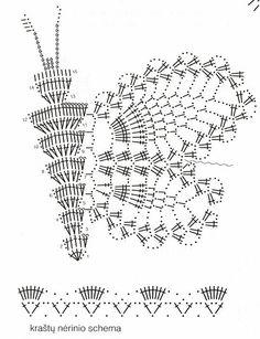 Graficos y Crochet: Vestido en crochet ruso bco rosa