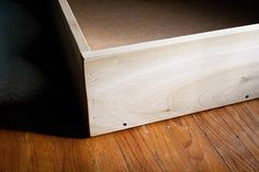 IKEA Hackers: Gulliver Crib to Montessori Style Floor (Toddler) Bed Transformation