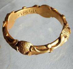 """Early English gold posy ring ca 1500. Engraved """" pour amore """" inside."""
