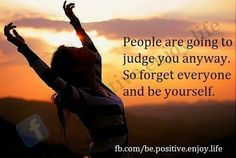 Yes! Life is too short and you cant please them all, so DONT! There is only one judge anyway.