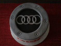 My first Audi cake