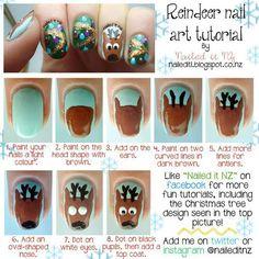 Reindeer Nails ^^