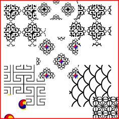 korean design pattern | Korean Patterns 1 by *KinnoHitsuji on deviantART