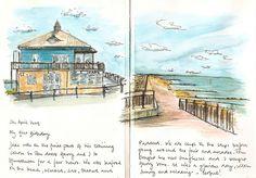 5April09-Sketchbook (Plein Air) by Anita Davies, via Flickr
