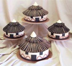 African Wedding Cakes | VibrantBride.com
