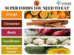 Super foods you need to eat