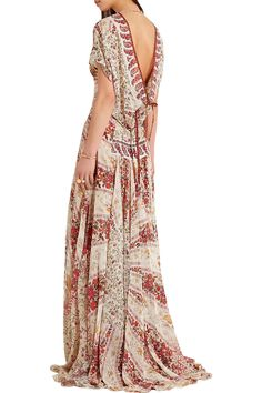 Shop on-sale Etro Printed silk-chiffon gown . Browse other discount designer Dresses & more on The Most Fashionable Fashion Outlet, THE OUTNET.COM