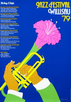 Jazz Festival Willisau 79 by Troxler, Niklaus | Shop original vintage #posters online: www.internationalposter.com