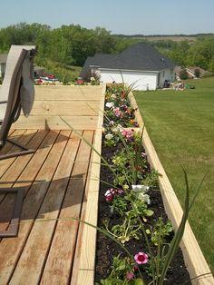 Flower Boxes For Deck Railings 10 Backyard In 2019
