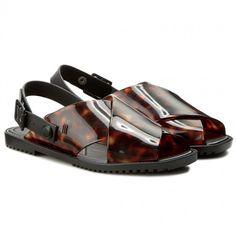 Sandały MELISSA - Sauce Sandal Ad 31913 Black/Tortoise 52812