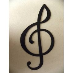 Treble Clef Music Note Metal Wall Art Decor ** You can find more details by visiting the image link. (This is an affiliate link and I receive a commission for the sales)