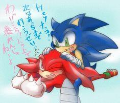 """Sonic, I'm not a bird"" Hedgehog Art, Sonic The Hedgehog, Sonic & Knuckles, Echidna, Sonic Fan Art, Appreciation, Gaming, Universe, Ships"