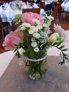 Blumengestecke Hochzeit