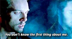 """Clary """"you don't know the first thing about me"""" City of Bones"""