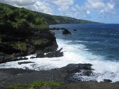 Maui: Black Sand Beach