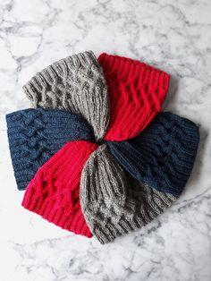 Renmore Beanie Knitting pattern by AranAccessories – Knitting patterns, knitting designs, knitting for beginners. Beanie Knitting Patterns Free, Knitting Designs, Knit Patterns, Knitting Projects, Crochet Projects, Crochet Beanie, Crochet Yarn, Knitted Hats, Crochet Headbands