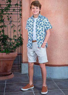 Camisas para niños primavera verano 2018. Moda primavera verano 2018. Outfits Niños, Trendy Outfits, Shoes Without Socks, Kids Fashion, Men Casual, Shirts, Mens Tops, Clothes, Dresses