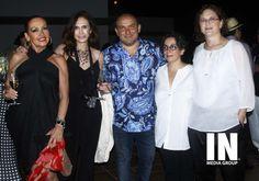 Liz Vaega, Claudia Azpiri, David Salomón, Celia Marin y Sonia Ortiz.