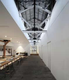 Warehouse Renovation is a minimalist interior located in Shanghai, China, designed by Naturalbuild.