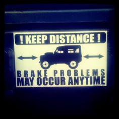 KEEP DISTANCE !  Photo by danielpras