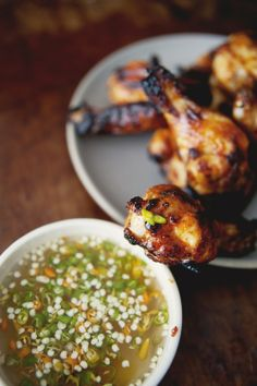 Thai Style Chicken Wings.