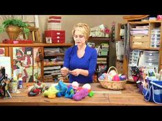 How-To Video on the (dry) Felted Easter eggs. Nice!